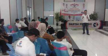 Ikuti TOT dan LKD, Sarana Kader Perindo Sulsel Dalami Visi Partai