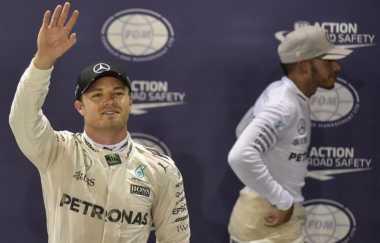 Lewis Hamilton Nikmati Persaingan dengan Nico Rosberg