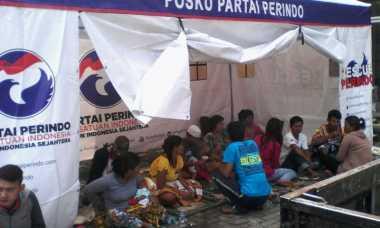 Bantu Korban Banjir, Perindo Garut Perpanjang Masa Tugas Posko dan Ambulance