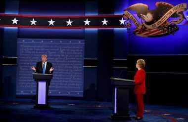 Awali Debat, Hillary-Trump Paparkan Program Mencapai Kesejahteraan AS
