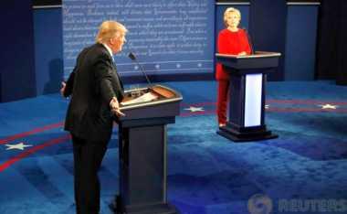 VIDEO: Debat Capres AS Jadi Ajang Perang Kritik Trump-Hillary