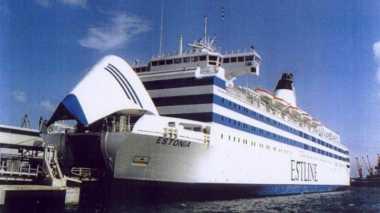 HISTORIPEDIA: Kapal Estonia Tenggelam, Hampir 1.000 Orang Tewas