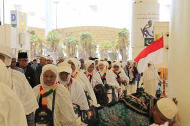 57.921 Jamaah Haji Sudah Mendarat di Tanah Air