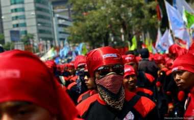 Lusa, Buruh di 20 Provinsi dan 150 Kabupaten/Kota Lakukan Demo Serentak
