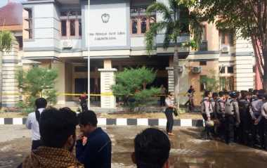 Mabes Polri Selidiki Kasus Pembakaran Kantor DPRD Gowa