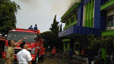Kebakaran Kantor BPPT Bekasi Diduga Akibat Korsleting Listrik