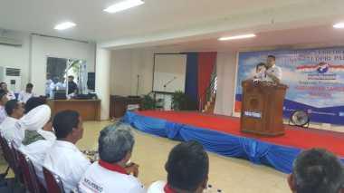 Kedatangan Hary Tanoe, Gedung Islamic Center Tangerang Penuh Sesak