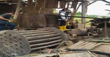 Ledakan di Pabrik Tahu Diduga karena Pekerja Lupa Isi Air ke Boiler
