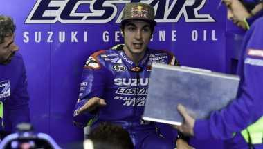 Vinales Akui Nyaris Senggol Rossi dan Lorenzo di GP Aragon