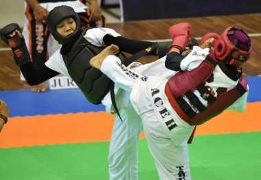 Lolos ke Final, Atlet Tarung Derajat Kalbar Malah Pingsan