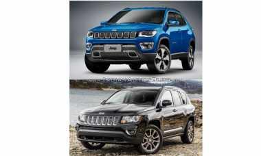 Mengulik Perbedaan Jeep Compass Model 2011 dengan 2017