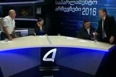 Diskusi Memanas, Politikus Baku Hantam di Tengah Siaran Langsung