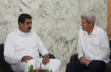 Bertemu John Kerry, Maduro Buka Lembaran Baru dengan AS