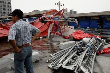 China Evakuasi 120 Ribu Warga Antisipasi Topan Megi