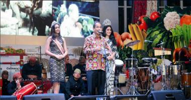 Gelar Wonderful Indonesia Culinary & Shopping Festival 2016, Indonesia Siap Jadi Surga Belanja
