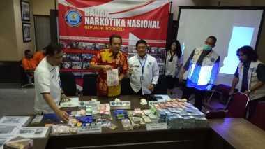 BNN Ungkap Pencucian Uang Penjualan Narkoba Mencapai Rp25 Miliar