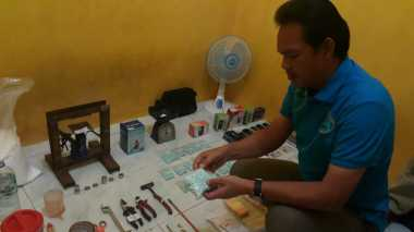 Satu Malam, Pabrik Narkoba di Tangerang Produksi 2.600 Ekstasi