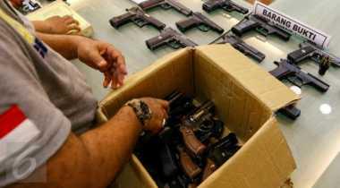 Bandar Narkoba Melarikan Diri, Polisi Amankan Pistol & Peluru Aktif