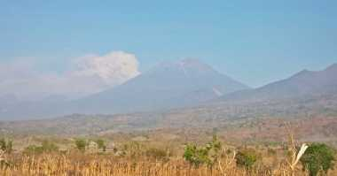BPBD: Mataram Aman dari Abu Vulkanik Gunung Barujari