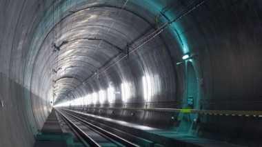 Swiss Bakal Miliki  Terowongan Kereta Terpanjang di Dunia