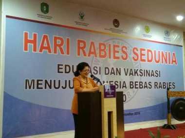 Menkes Minta Masyarakat Peduli Rabies