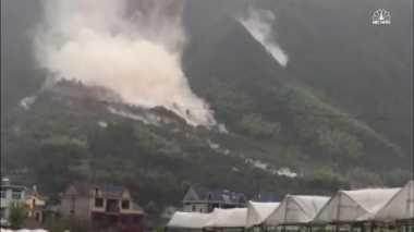 Topan Hantam China Picu Longsor Besar, 27 Orang Hilang
