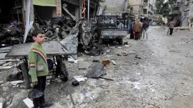 Aleppo Kembali Memanas, 96 Anak Tewas