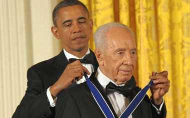 Obama Akan Hadiri Pemakaman Shimon Peres di Yerusalem