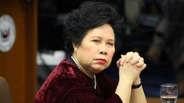 """""""Iron Lady of Asia"""", Capres Filipina Penantang Duterte Tutup Usia"""