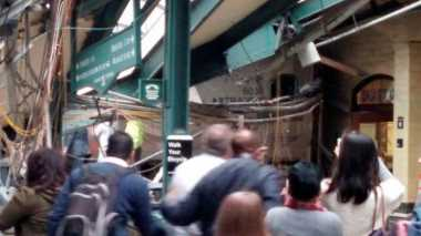 Kecelakaan Kereta New Jersey: Terdengar Suara Mirip Ledakan Bom
