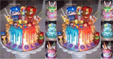 UNIK: Keren, Kue Ulang Tahun Ini Bertema Civil War