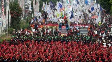 Ini Rute Pengalihan Arus Lalu Lintas Imbas Demo Buruh