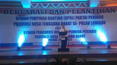 Hary Tanoe Lantik 597 DPRt Perindo Se-Lombok