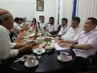 Silaturahmi ke Media Lokal NTB, Hary Tanoe Diskusi soal Perjuangan Perindo