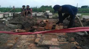 Kuli Bangunan Temukan Candi Misterius di Mojokerto