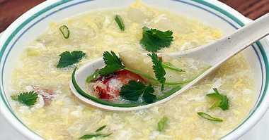 Musim Hujan, Makan Pagi Enaknya dengan Sup Kepiting Asparagus