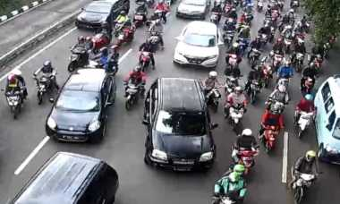 Lalu Lintas Jakarta, Salemba Padat Gatot Subroto Ramai Lancar