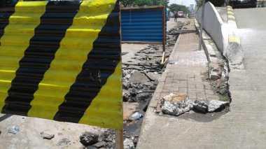 Ledakan di Depan Detos, Proyek Drainase Margonda Tetap Dilanjutkan