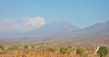 Gunung Barujari Masih Berstatus Waspada Level II