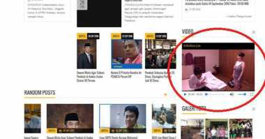 Heboh Reklame Porno di Jakarta, Website DPRD Sidoarjo Juga Berisi Bokep