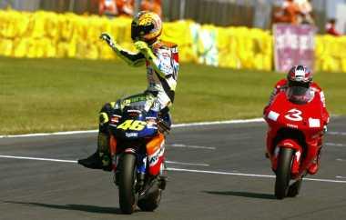 Rossi: Marquez, Stoner, dan Gibernau Hebat, tapi Rival Terberat Saya Biaggi dan Lorenzo!