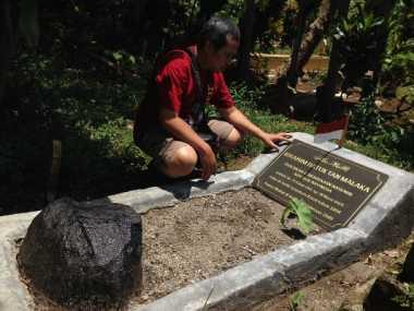 Makam Tan Malaka Dipugar dan Ditancapkan Bendera Merah Putih