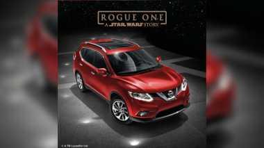Nissan Bantu Promosikan Film 'Star Wars' dengan X-Trail Edisi Khusus