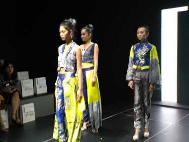 Warna Pop Up Menjadi Tren di Batik Fashion Week 2016