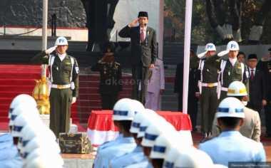 Jokowi Pimpin Upacara Peringatan Kesaktian Pancasila