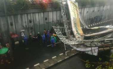 Polisi Periksa 8 Saksi Terkait JPO Roboh di Pasar Minggu