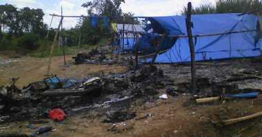 Bacok Diri Sendiri, Pamswakarsa Dituding Jadi Provokator Bentrokan di Lampung