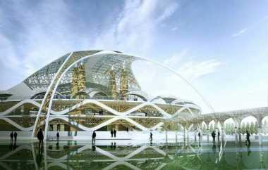 Masjid Sriwijaya Jadi Warna Baru untuk Palembang