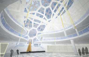 Masjid Sriwijaya Gabungkan Timur Tengah & Palembang