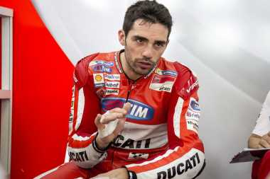 Gantikan Iannone, Test Rider Ducati Kecewa dengan Performa di Aragon